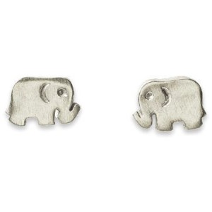 Dogeared Small ElephantスタッドIt 's The Little Things Earrings