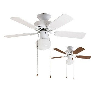 電球色【LD】2WAY USE TRADITIONAL CEILING FAN LIGHT WH(002952) + LD2602/ND26 軽量 LED 簡易取付 メルクロス 北欧...