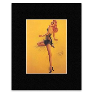 AMERICAN PIN UP - Print 74 Mini Poster - 32.1x23.1cm