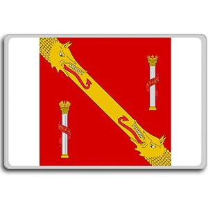 Standard Of Francisco Franc (1940-1975), Historic Flags of Spain fridge magnet - 蜀キ阡オ蠎ォ逕ィ繝槭げ繝阪ャ繝