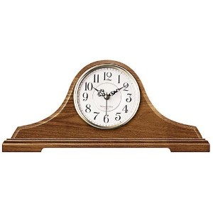 Infinity Instruments OakTambour Clock With Chime [並行輸入品]