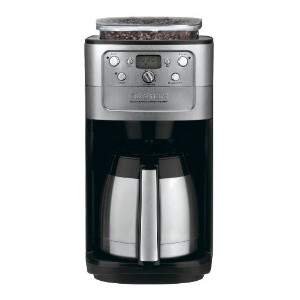 Cuisinart DGB-900BC Grind & Brew Thermal 12-Cup Automatic Coffeemaker, Brushed Stainless/Black ...
