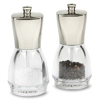 Cole & Mason Salisbury Precision Salt and Pepper Mill Gift Set, Stainless Steel by Cole & Mason