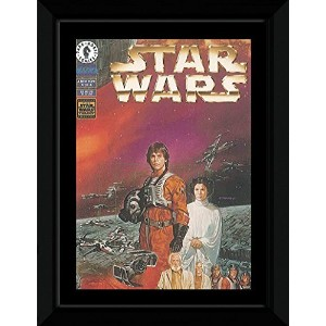Star Wars - A New Hope: A Plan To Destroy The Death Star Framed Mini Poster - 14.7x10.2cm