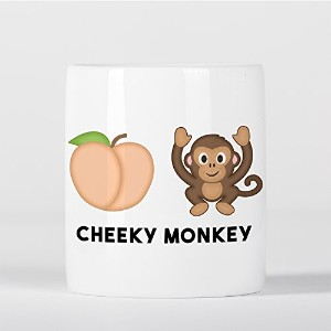 Cheeky Monkey Emoji 貯金箱