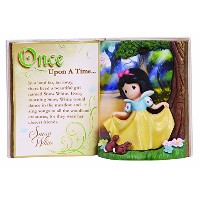 Precious Moments Disney Snow White Storybook Figurine [並行輸入品]