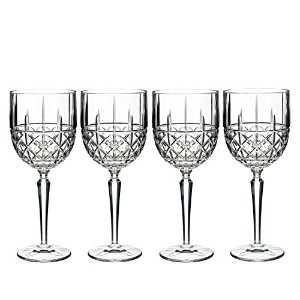 Marquis by Waterford Brady Goblet ( Set of 4)、クリア