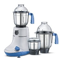 Mantra PMG03 Powerful Mixer Grinder with 3 Stainless Steel Jars for Grinding and Juicing, 600 W,...