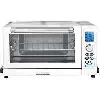 Cuisinart TOB-135W Deluxe Convection Toaster Oven Broiler, White [並行輸入品]