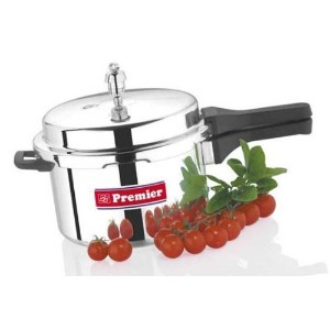Premier Aluminium Pressure Cooker (with one free gasket & one Valve) - Netra - 10 liters by Premier