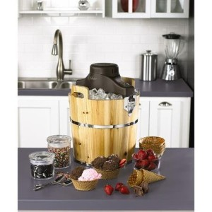 Oster Wooden Ice Cream Bucket [並行輸入品]