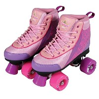 Kandy Skates Pure Passion Pink and Purple Roller Skates - Size 2 [並行輸入品]