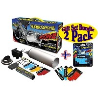Schylling Turbospoke Bicycle Exhaust System & Motocard Refill Pack Deluxe Gift Set Bundle - 2 Pack ...