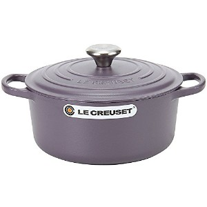 Le Creuset ルクルーゼ SIGNATURE シグニチャー Cocotte ronde 24cm ココットロンド Amethyst アメジスト 両手鍋 [並行輸入品]