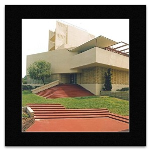 Frank Lloyd Wright - Annie M. Pfeiffer Chapel Florida 1938 Mini Poster - 40x40cm