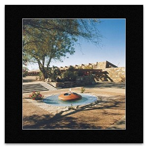 Frank Lloyd Wright - Taliesin West Scottsdale Arizona 1938 Mini Poster - 40x40cm