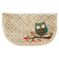 Mainstays Slice Kitchen Rug, Owl Trellis, 18 x 30 Inches (1) by Mainstay