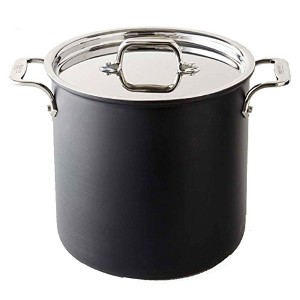 All-Clad B1 Nonstick 8 Qt. Stockpot with Lid by All-Clad