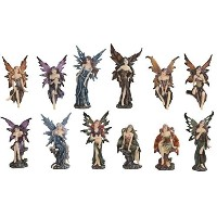 StealStreet SS-G-91663 Miniature Fairies Figurine (Set of 12) [並行輸入品]
