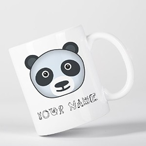Personalised Panda Cute Animal Zoo Children Customizable マグカップ