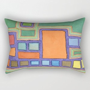 Geometry Pillowcase ,best For Boy Friend,chair,bar Seat,saloon,gf,kids Room 18 X 26 Inches / 45 By...