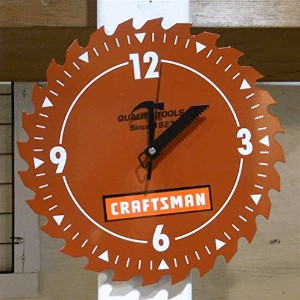 CRAFTSMAN shop CLOCK