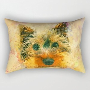 Dogs Cushion Covers 16 X 24 Inches / 40 By 60 Cm For Couples,bar,home Theater,couples,bedding,divan...