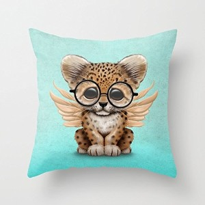Pillow Shams Of Animal,for Couch,bar,chair,husband,boy Friend,home Office 20 X 20 Inches / 50 By 50...