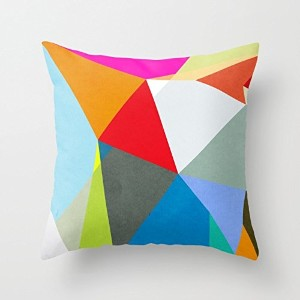 Geometry Throw Pillow Case 16 X 16 Inches / 40 By 40 Cm Gift Or Decor For Deck Chair,sofa,bar,car...