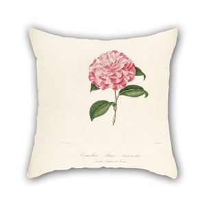 Bestdecorhouse Flower Throw Pillow Covers 16 X 16 Inches / 40 By 40 Cm For Adults,lover,kids,chair...