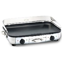 All-Clad 99014 GT Electric Griddle with 20 x 13-Inch Hard Anodized Cooking Surface, Silver [並行輸入品]