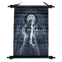 Anne Stokes アートスクロール Gothic Siren