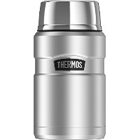 Thermos Stainless King 24 Ounce Food Jar, Stainless Steel [並行輸入品]