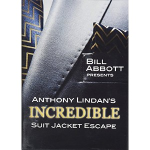 MMS The Incredible Suit Jacket Escape (Routine, Script and DVD) by Anthony Lindan [並行輸入品]