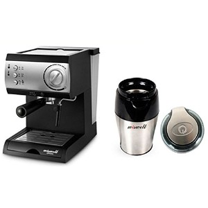 WISWELL Semi Automatic Espresso Machine Milk Steamer DL-310 &WISWELL Semi Automatic Espresso...