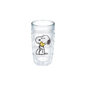 Tervis Peanuts Snoopy and Woodstock Wavy Tumbler, 10-Ounce