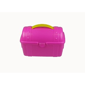 Romanoff Pirate Lunch Case, Hot Pink