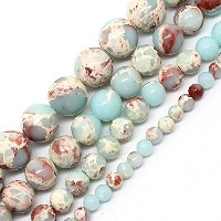 Blue Stone Beads For Jewelry Making