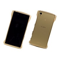 Deff アルミニウム バンパー CLEAVE Aluminum Bumper Chrono for Xperia Z5 / DCB-XZ5A6