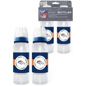 Denver Broncos Baby Bottles - by Baby Fanatic