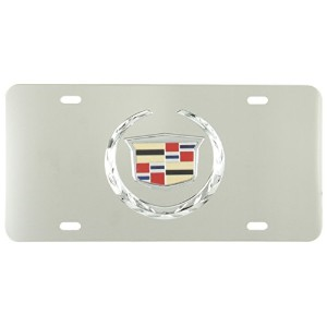 Pilot Automotive LP-051 Cadillac Chrome 3D Plate