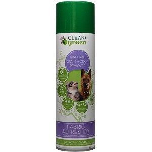Clean + Green Furniture Refresher for Pet Odors for Dogs and Cats, 16 oz by Clean+Green