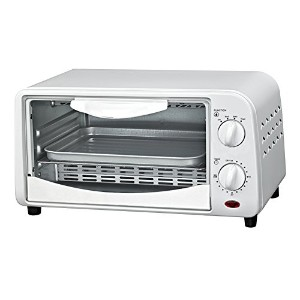 Courant TO-942W 4 Slice Countertop Toaster Oven with Bake and Broil Functions and 30 Minute Timer,...