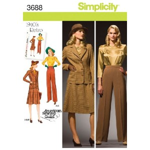 SIMPLICITY MISSES OR PLUS SIZE BLOUSE, S-10 12 14 16 18 (並行輸入品)