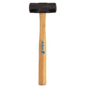 Jackson Professional Tools 027-1197500 6 Lb Dbl Face Sledge Hammer 16 Inch Hickory Handle