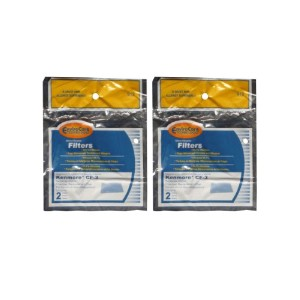 ( 4) Kenmore真空cf-3Foamフィルタ86888、シアーズUpright、非Whispertone、Canister真空Cleansers、20–86888、0208000600...
