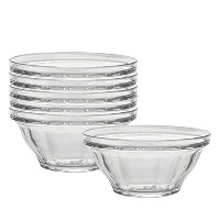 Duralex Made In France Picardie 2-1/2-Quart Bowl, Set of 6 by Duralex