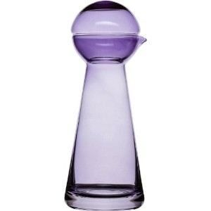 Sagaform 5016485 Birdie Carafe, Small, Purple by Sagaform