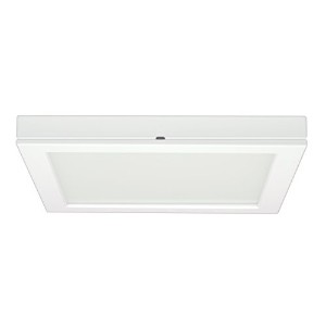 Satco Products S9365 Blink Flush Mount LED Fixture, 18.5W/9, White by Satco