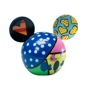 Disney By Britto from Enesco Mickey Head Coveredボックス–Sweetheart 4。」